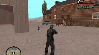 GTA SA: Weapon sound mod test ~~