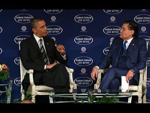 President Obama Speaks at the Saban Forum