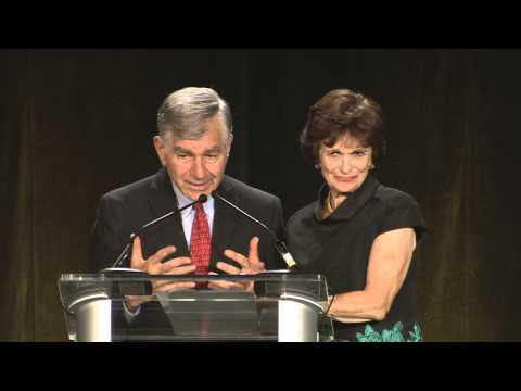 Michael and Kitty Dukakis Speak at the Dukakis Center 15th Anniversary Gala