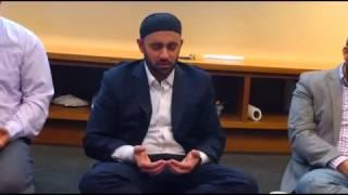 Khalid Latif: Prayer gathering for Syria at ICNYU - part 1