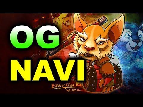 NAVI vs OG - SEMI-FINAL - MDL MACAU 2017 DOTA 2