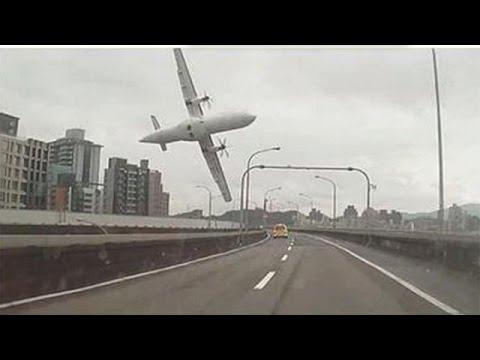 أكثر من عشرة قتلى في حادث سقوط طائرة ركاب تايوانية