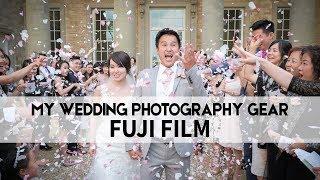 FUJI wedding PHOTOGRAPHY gear | whats in my wedding bag - fuji xt2