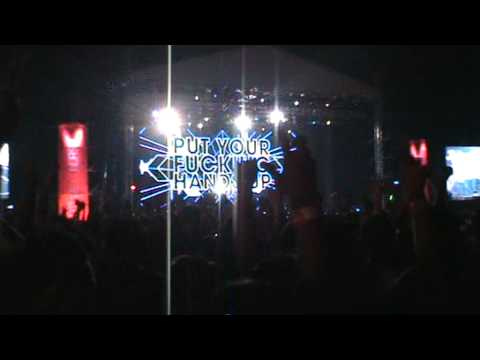 David Guetta In Sepang - Sexy Bitch Remix   Put Your Fucking Hands Up video