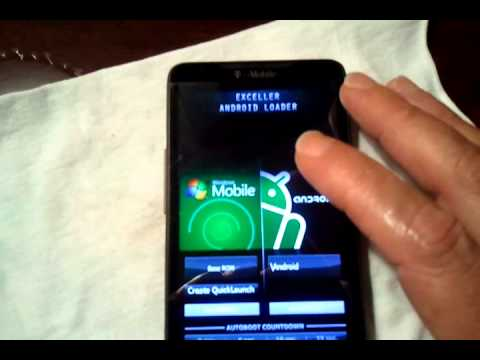 HTC HD2   dual boot . power amp . quadrant . froyo 2.2 . windows mobile 6.5.3gp