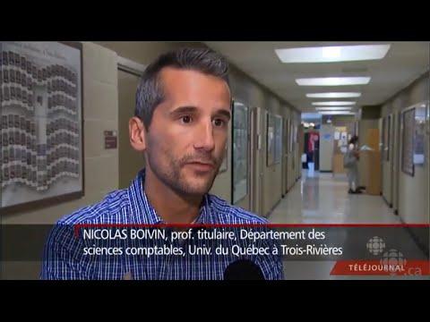 [Prof. Boivin] Entrevue Télévision ICI Radio-Canada Téléjournal (10 septembre 2015)