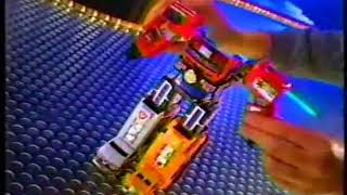 Power Rangers Lightspeed Rescue Supertrain Megazord And Rescue Megazord Toy Commercial
