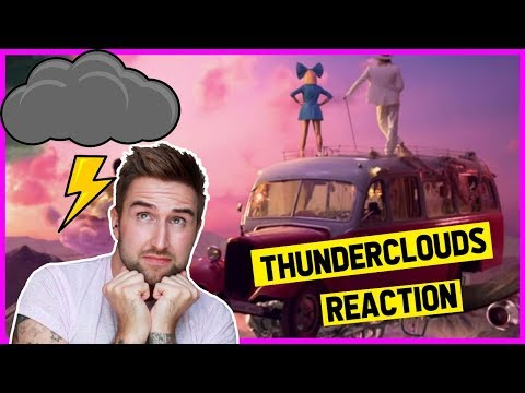 Download Lagu  LSD - Thunderclouds   ft. Sia, Diplo, Labrinth REACTION | thatsNathan Mp3 Free