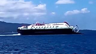 Video Amatir Detik-detik Kapal Revalia 2 Tenggelam di Selat Bali