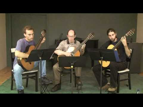 Summer Practice with Classical Guitar Trio Part III