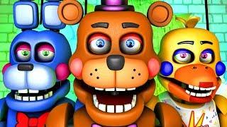Five Nights at Freddy's Song (FNAF 6 SFM 4K Rockstar)(Ocular Remix)