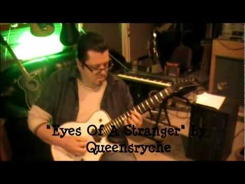 How to play Eyes Of A Stranger by Queensryche on guitar