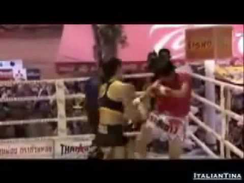 Gina Carano Fight Tribute55 (MMA   Muay Thai).flv