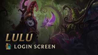 Lulu, the Fae Sorceress | Login Screen - League of Legends