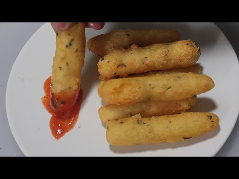 Fried Cheese Potato Snack Recipe