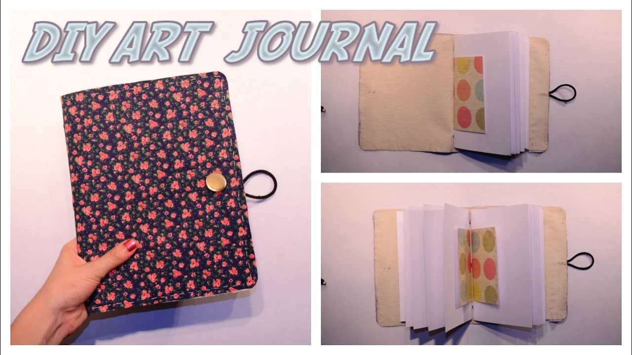 Diy art journal youtube for Diy crafts youtube channels