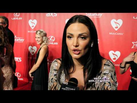 MusidCares Red Carpet 2015 Pre Grammy _ Hello Hollywood TV