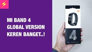 Rp.550 Ribuan — Unboxing Mi band 4 Indonesia Global Version!