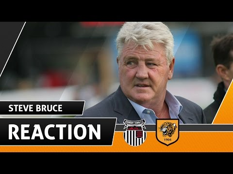 Grimsby Town v The Tigers | Reaction With Steve Bruce | 15.07.16