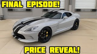 Rebuilding a Wrecked 2017 Dodge Viper Part 19