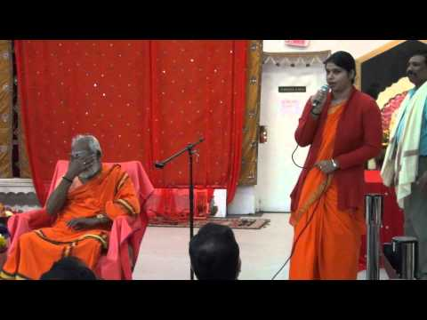 Courtallam Swamiji NJ SaiMandir 101814 01 Welcome Introduction