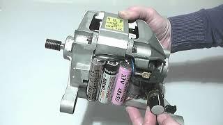 230V alternating current washing motor that rotates at 4-8-12V DC