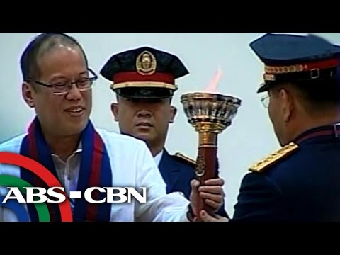 PNoy back home after Europe, US trip