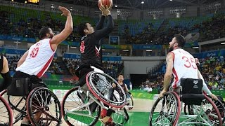 Day 1 evening | Wheelchair Basketball highlights | Rio 2016 Paralympic Games