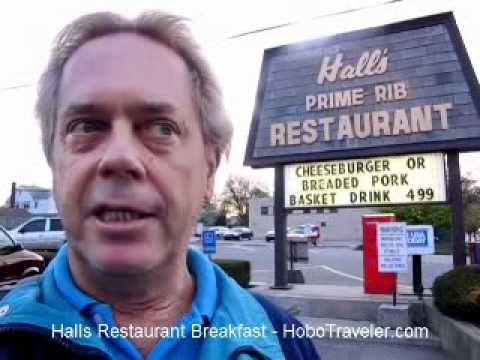 How much is Breakfast in USA? Halls Restaurant in Fort Wayne