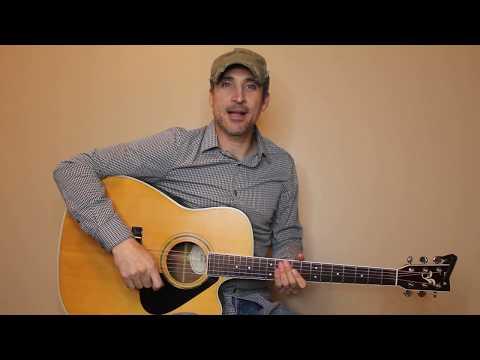 You Make It Easy - Jason Aldean - Guitar Lesson | Tutorial