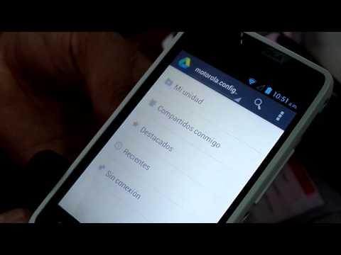 Motorola Razr D1 XT914  Nos muestran sus principales funciones