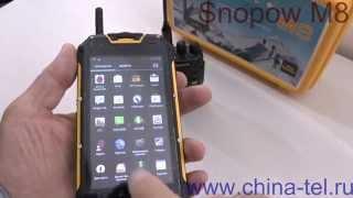 Snopow M8 видео обзор