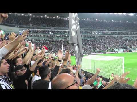 Juventus vs Roma 3-2 curva sud 05/10/2014
