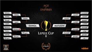 FINAL DE LA LEPE CUP 2 MORTALES JUGANDO AGE OF EMPIRES 2