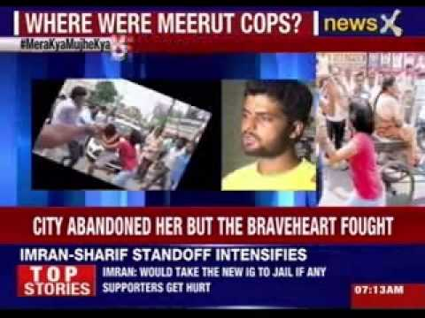 Brave woman from Meerut fights of husband's attackers