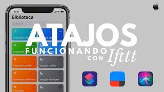 ATAJOS DE SIRI EN ESPAÑOL CON IFTTT| FUNCIONA | SHORTCUTS Y ACCESORIOS NO COMPATIBLES | ALOHAPPS