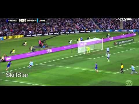 Diego Costa vs Sidney FC  International Friendly  020615 With Commentary HD