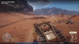 Battlefield 1- Sinai Desert Ottoman Soldiers Gameplay - Speaking Turkish!