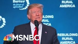 President Donald Trump Relives Glory Days Of '16 In Speech   Morning Joe   MSNBC
