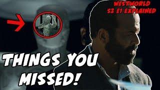 Things You MISSED! Westworld Season 2 Episode 1 Easter Eggs