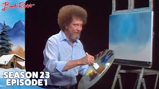 Bob Ross - Frosty Winter Morn (Season 23 Episode 1)