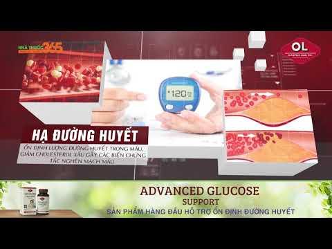 Advanced Glucose Support sản phẩm hàng đầu hỗ trợ ổn định đường huyết