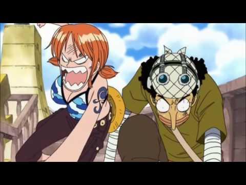 One piece moments drôles (funny) les colères de Nami