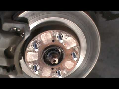 Toyota Rav 4 brake job (brake pads and rotors)