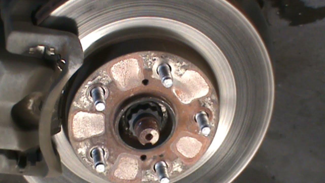 Toyota Rav 4 Brake Job Brake Pads And Rotors Youtube
