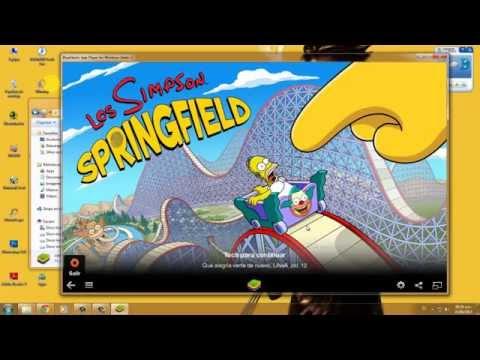 media descargar springfield hackeada android