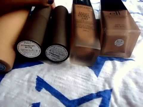 Foundation Matches NW43.NW45 - Becca. Iman. Lancome. MAC. Revlon. Cover Girl