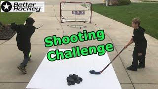 Kids HocKey Shooting Challenge Cbanks vs TG