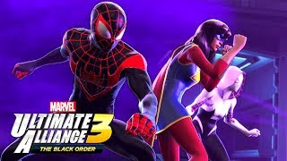 MARVEL ULTIMATE ALLIANCE 3 - New Characters Abilities Gameplay! - Nintendo Switch