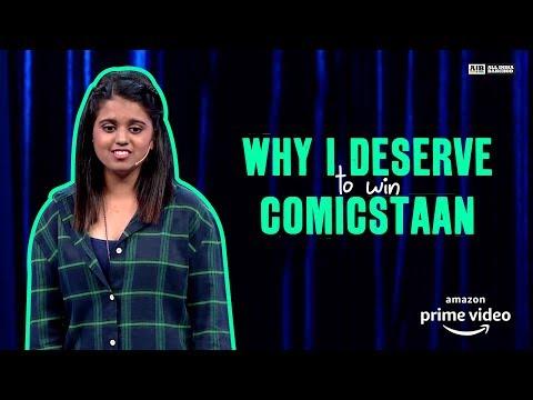 Why I Deserve to Win #Comicstaan : Standup by Aishwarya Mohanraj thumbnail